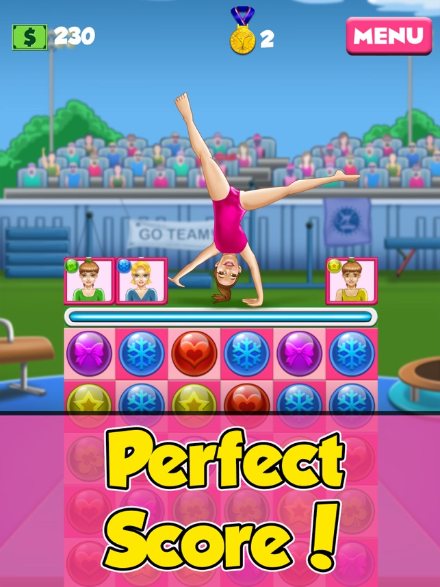 gymnastics girl hero sports