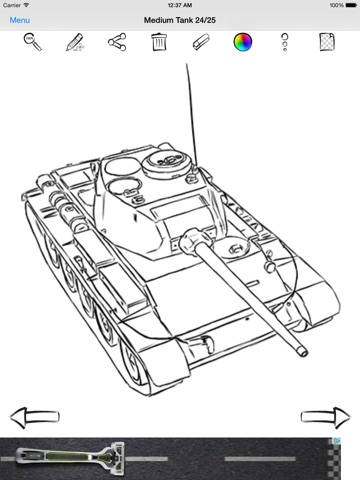 How To Draw A Tank Easy : Learn
