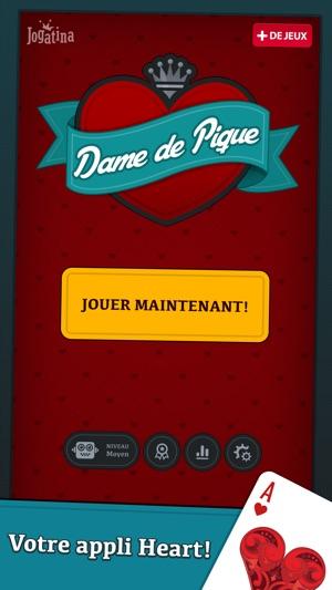 Jeu Dame De Pique Gratuit : pique, gratuit, Pique, Cartes, Classique, L'App, Store
