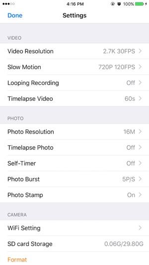WIMIUS CAM Pro dans l'App Store