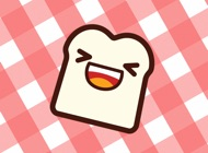 Toastoji Kawaii Toasted Bread Emoji Stickers
