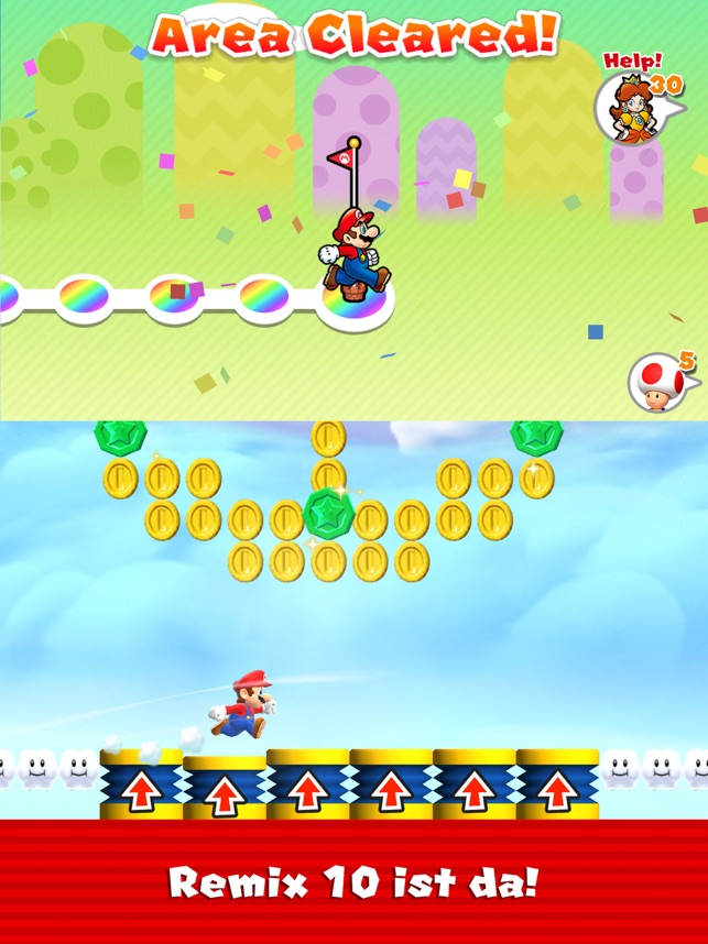 ?Super Mario Run Screenshot