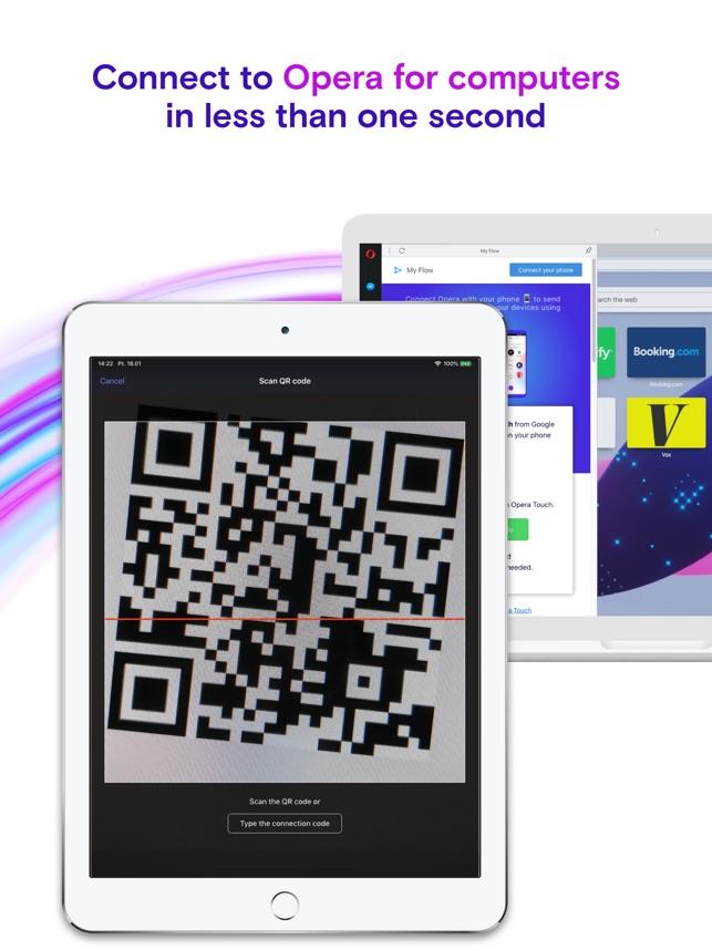 Navigateur web Opera Touch Capture d'écran