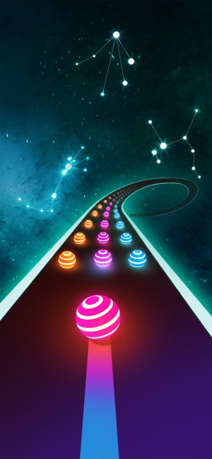 ‎Dancing Road: Color Ball Run! Screenshot