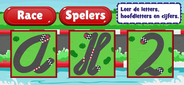 Letters leren schrijven Screenshot