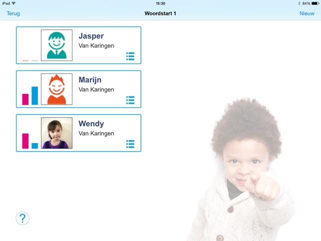 Woordstart 1 Screenshot