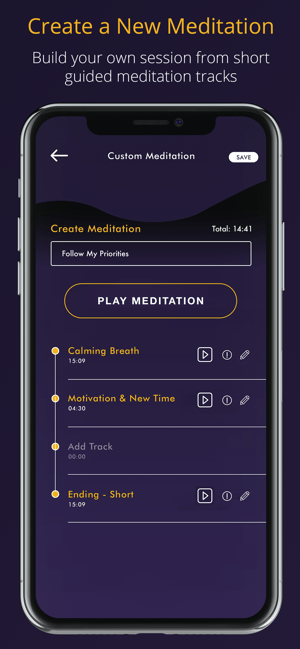 ‎Guided Meditation - Meditable Screenshot