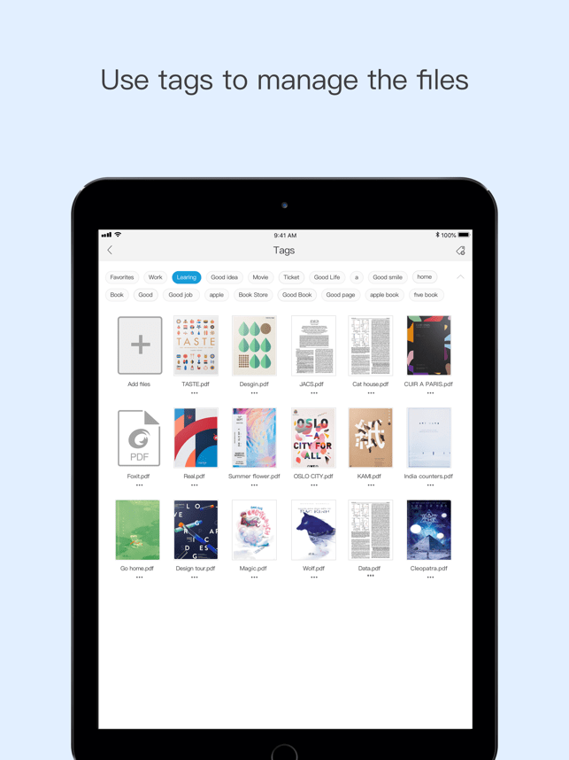 Foxit PDF Reader Mobile Screenshot