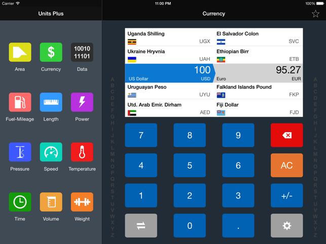 Unit Converter - Best Unit App Screenshot