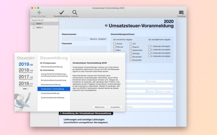 Steuererklärung Screenshot 04 9oof69n