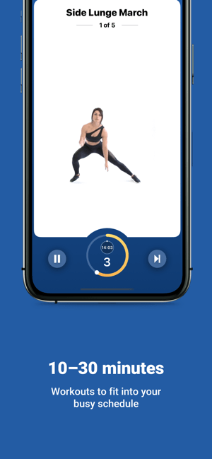 Fitify: Full Body Workout Screenshot