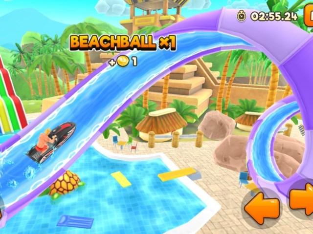 Uphill Rush Water Park Racing Screenshot