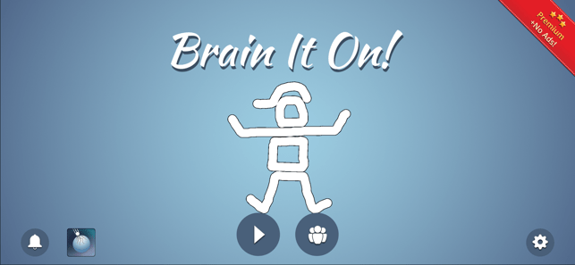 ‎Brain It On! Screenshot