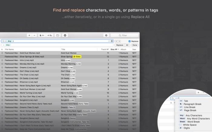 Meta – music tag editor Screenshot 04 o5t568y