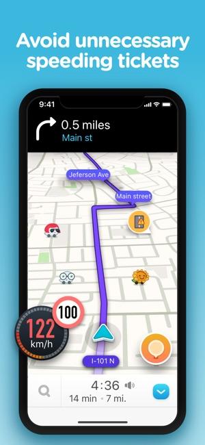 7 way navigation network wiring diagram rj45 waze live traffic on the app store 4