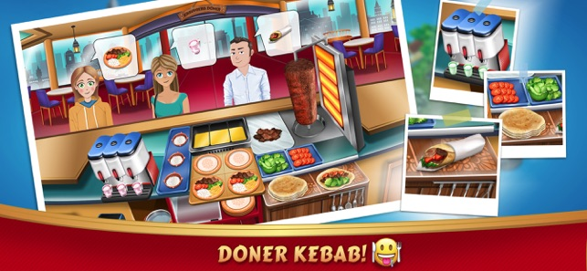 Kebab World - Cooking Game Screenshot