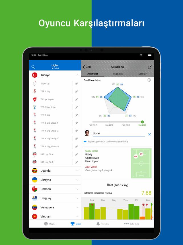 SofaScore: Futbol Canlı Skor Screenshot