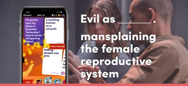 Evil Apples: A Dirty Card Game Screenshot