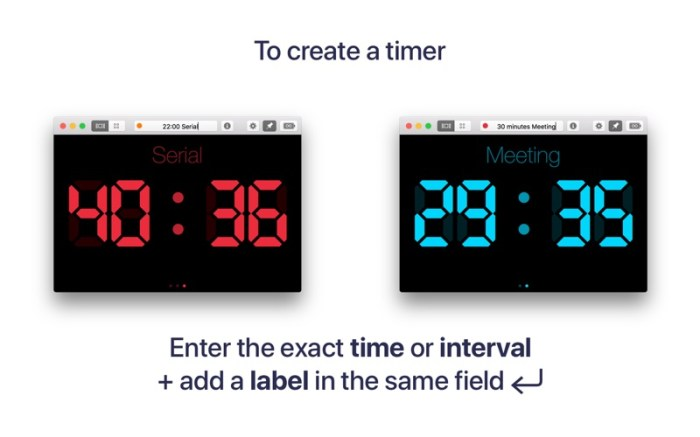 RH Timer - Manage Your Time Screenshot 02 ikzebvn