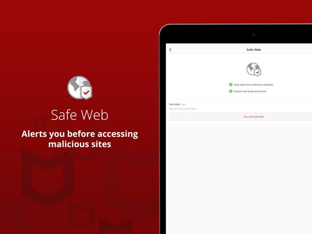 Mobile Security & Safe Web VPN Screenshot