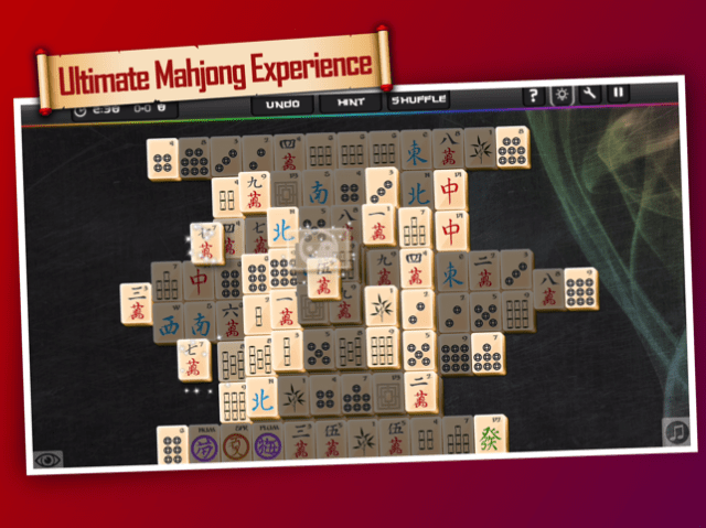 1001 Ultimate Mahjong ™ Screenshot