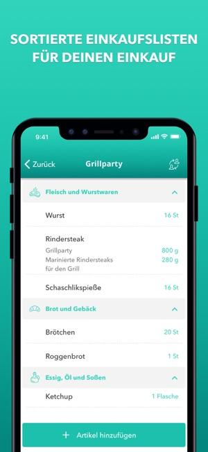 körbchen | Rezepte & Einkaufen Screenshot