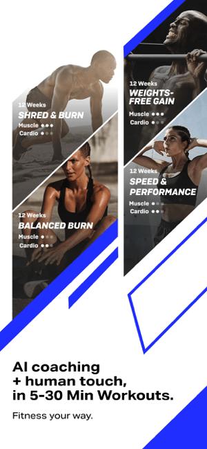 Freeletics: HIIT Fitness Coach Screenshot
