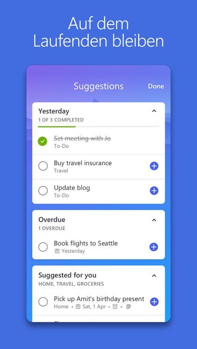 392x696bb Microsoft To-Do - Wunderlist Nachfolger vorgestellt Apple iOS Google Android Software Technology