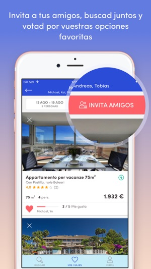 Holidu - Apartamentos Screenshot