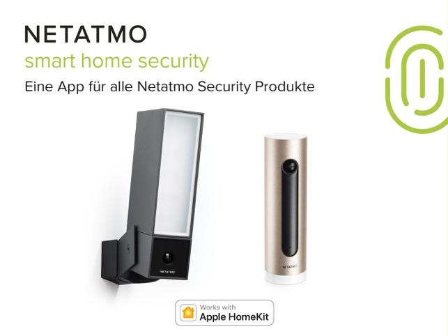 Netatmo Security Screenshot