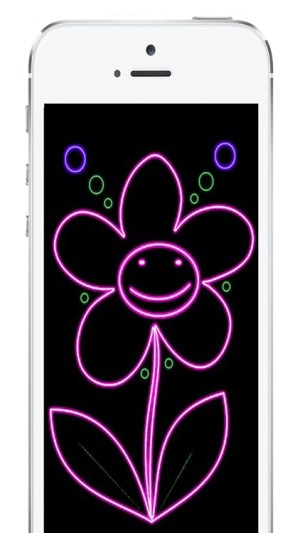 neon drawing effect lights pro bui duc tuan doodles