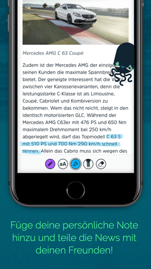SQUID - Nachrichten & Magazine Screenshot