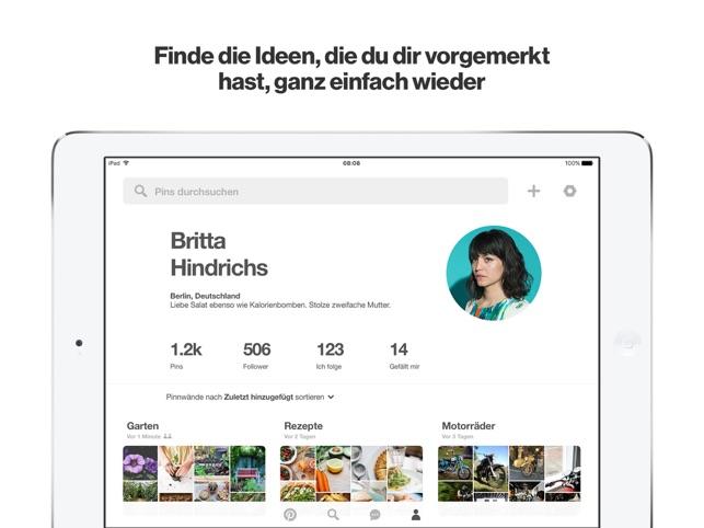 Pinterest Screenshot