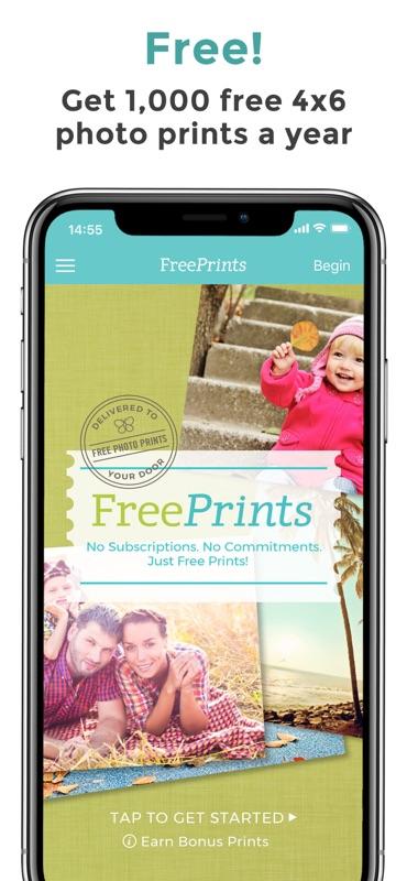 freeprints photos delivered online