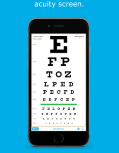 Eye chart hd screen vision also on the app store rh itunesle