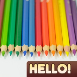 ‎Hello Color Pencil