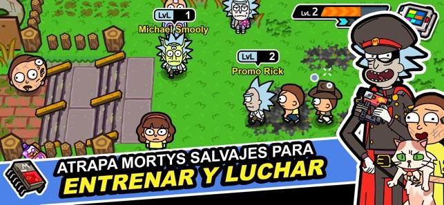 Rick and Morty: Pocket Mortys Screenshot
