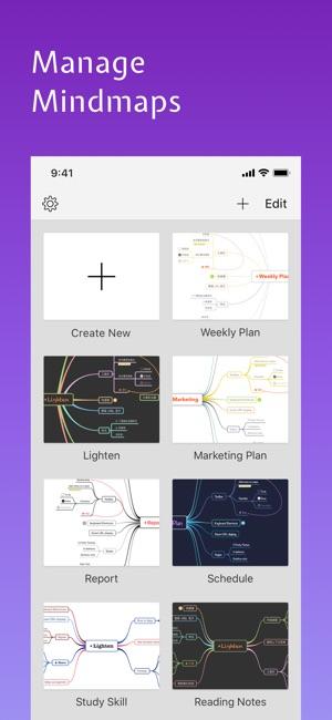 Lighten: Mind Mapping Screenshot