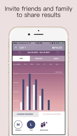 SPACE - Break phone addiction Screenshot