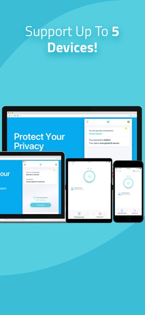 X-VPN Unlimited VPN Proxy Screenshot