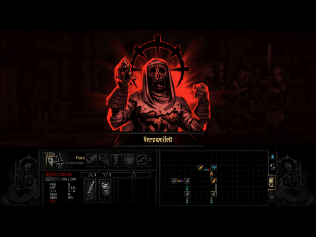‎Darkest Dungeon:Tablet Edition Screenshot