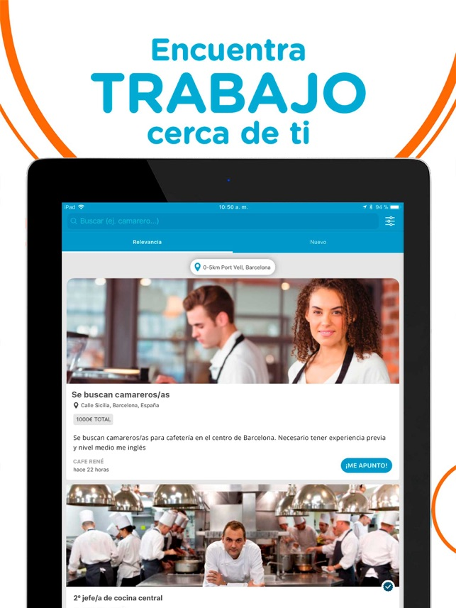 CornerJob - Ofertas de trabajo Screenshot