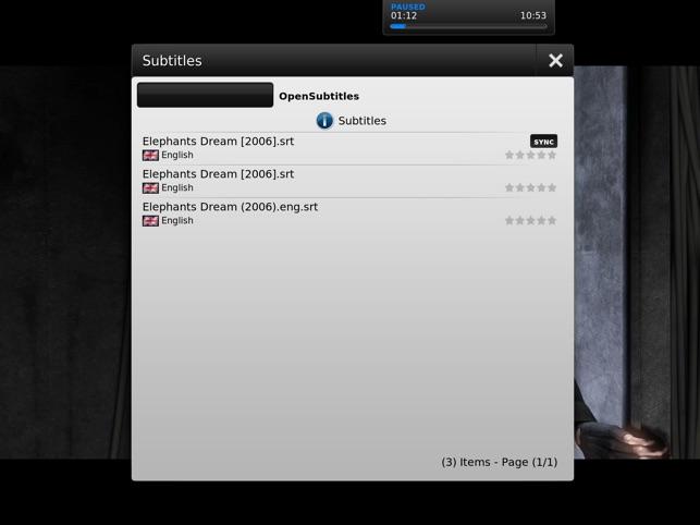 MrMC Touch Screenshot