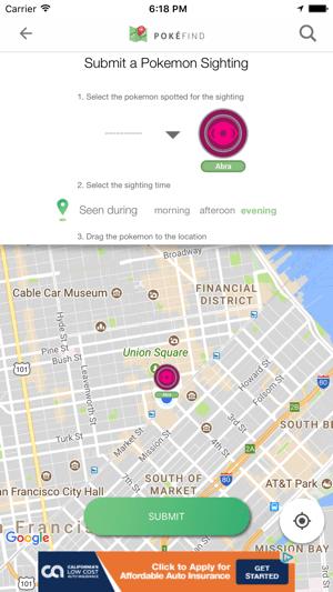PokéFind - IV & CP Calculator and Map for Poké GO Screenshot