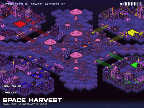 Space Harvest Screenshot
