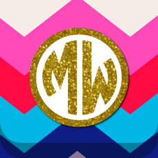 ‎Monogram Wallpapers Lite
