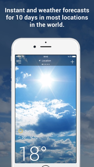 Weather Alarms Screenshot