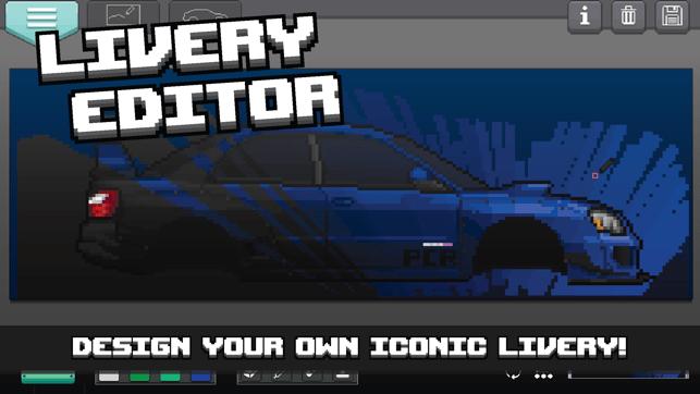 pixel car racer on