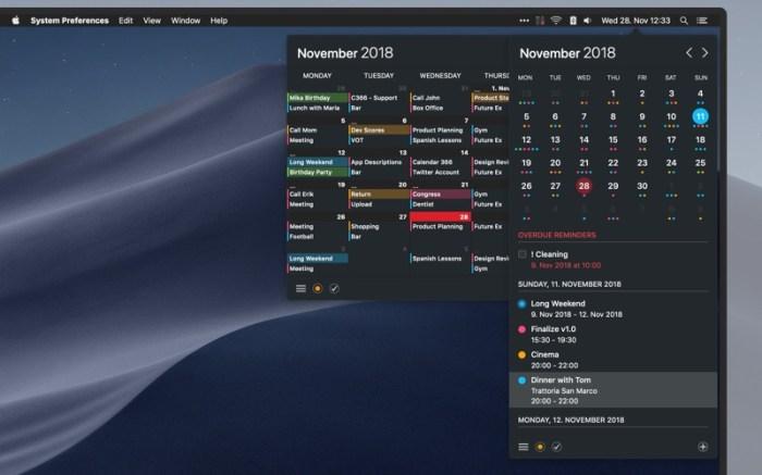 Calendar 366 II Screenshot 04 130gypn