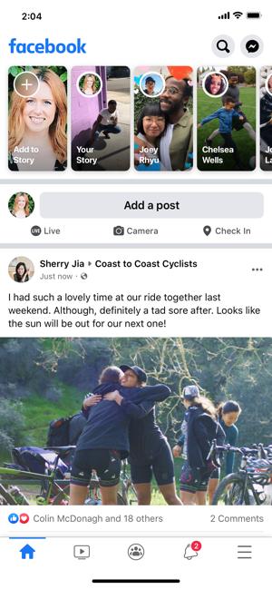 ?Facebook Screenshot